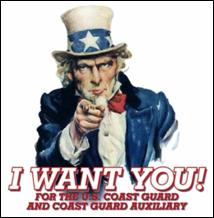 I Want YOU for the CG Auxiliary!